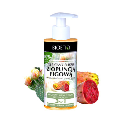 Eliksir olejowy z opuncją figową do demakijażu i pielęgnacji